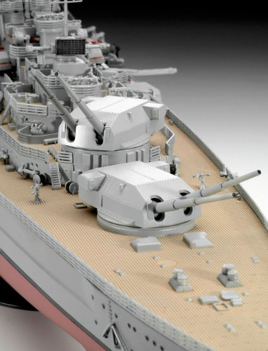 Revell 05040 - Battleship Bismarck - 6