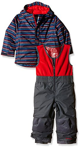 columbia-babies-buga-thermal-sets-multicoloured-bright-red-stripe-size-3