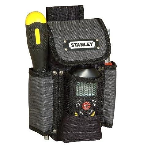 Stanley Gürteltasche (doppellagiges Denier Nylon, großes Hauptfach, Mobiltelefontasche, Werkzeugtasche)
