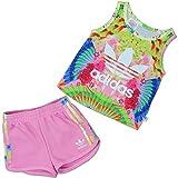 adidas Set – I Feather Set mehrfarbig/rosa Größe: 99-104 cm groß - 3 bis 4 Jahre
