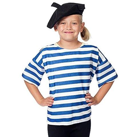 Französisch Kostüm für Kinder. 3-9 Jahre. (Frankreich Kostüm Für Jungen)