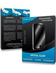 2 x SWIDO Crystal Clear Lámina de protección para Geonav 4 Gipsy - ¡Protección de pantalla cristalina con recubrimiento duro! CALIDAD PREMIUM - Made in Germany