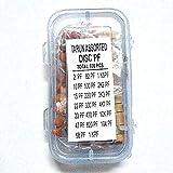 PGSA2Z PGGCRMI21 Ceramic Disk Capacitor Kit, 100 Pieces