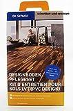Dr. Schutz CC-D/F-PVC-Designboden-Pflege-Set (PU-Reiniger, Vollpflege matt)