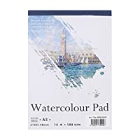 A5 Sketch Book,A5 Universal Artist Sketch Paper Pad Artist Sketch Book Watercolor Paper Notepad For Painting Drawing Diary Creative Notebook (A5)