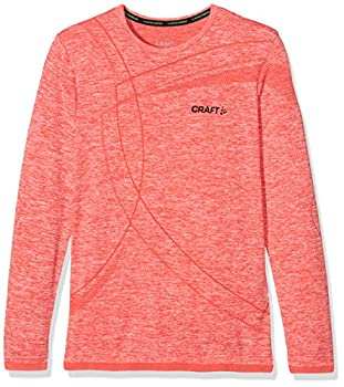 Craft Kinder Active Comfort Rn Ls Jr Baselayer, Poppy, 158164 0
