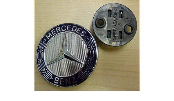 Bonnet Badge Emblem Hood for Mercedes Benz C CLK E S Class W220 W203 W210 W208