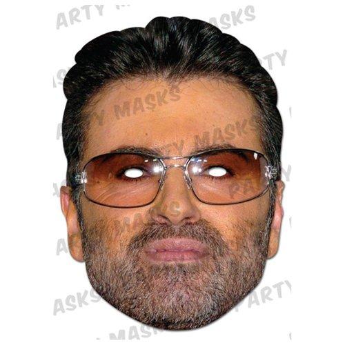 George Michael Celebrity Face Card Mask