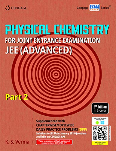 Physical Chemistry for Joint Entrance Examination JEE (Advanced): Part 2