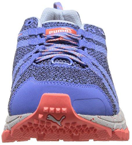 Puma - Faas 500 Trail V2 W, scarpe da ginnastica  da donna Blu (Blau (02 ultramarine-ultramarine-hot coral))