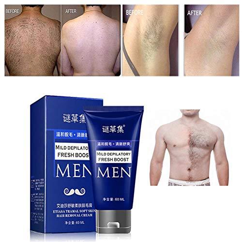 Dinglong Ausverkauf Schönheitspflege Körperpflege Mann Körper Haarentfernung Creme Hand Bein Haarausfall Enthaarungscreme