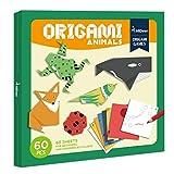 LMYG Jeu D'origami pour Enfants De 60 PCS, Jouets Manuels pour Bébés De...
