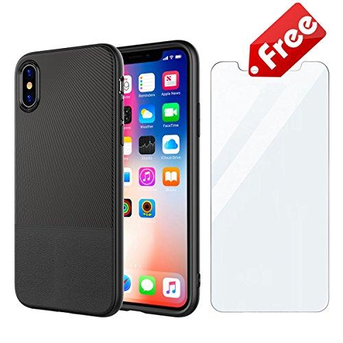 EU Ultra Slim Custodia iPhone 10 Protettiva Sottile X Cover