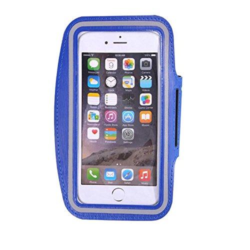 Premium Wasserdicht Fitness Laufen Walking Outdoor Sports Gym Universal Armband Übung Tasche Sleeve Pouch Cover für alle Handy iPhone 6 6S Plus 7 5 5S 5 C 4S 4 Sumsung (Mann Kostüm Kasten)