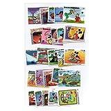 EXPLORA Timbres Disney Cartoon Set DE 50 Timbres Différents / du Monde Entier / Souvenir Dessins Animés / Collection Timbre-Poste