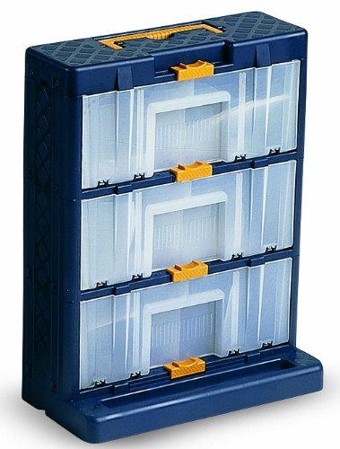 Domus ORGA.3C Cassettiera Portaminuterie a 9 Cassetti, Blu