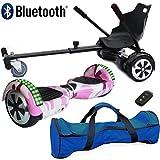 Nero Sport Bluetooth 6.5' Hoverboard Balance Scooter Board Bilanciamento...