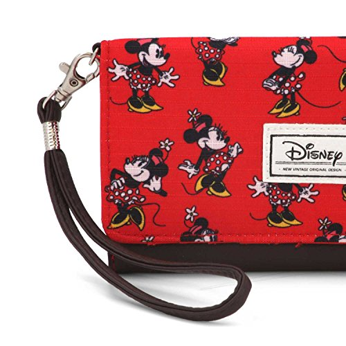 Karactermania 36377 Disney Classic Minnie Cheerful Monederos, 20 cm, Rojo