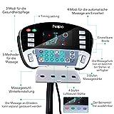 Naipo Shiatsu Ganzkörper Massagesessel mit S-Schiene, Heizungs-Therapie, Luft-Massage-System - 5