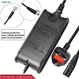 Tree.NB AC Power Adapter Charger for Dell Inspiron 11 13 14 15 3000 5000 7000 Series, 3552 3558 3148 3152 3153 5368 5378 7347 7348 7352 7353, Dell XPS 11 12 13 Series 9P33 9Q23 321 X 322X L321 X 65W