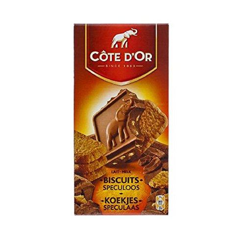 Côte D'Or - Tablette Au Lait Et Spéculoos 180Gr