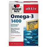 Doppelherz Omega-3 1400 mg – Nahrungsergänzungsmittel mit hochdosiertem...