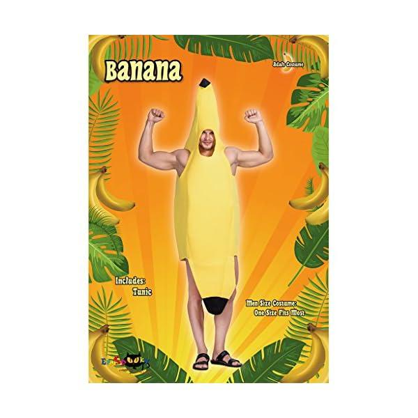 EraSpooky Banana Adulti Costume Cibo Frutta Uomo Donna Unisex Divertente novità Costume 2 spesavip