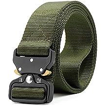 Amazon.es  cinturones hombre - Verde 677a3e5f3d32