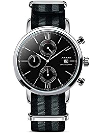 OGYA SINOBI Watch Men Watch Nylon Strap Chronograph Watches Men's Watch