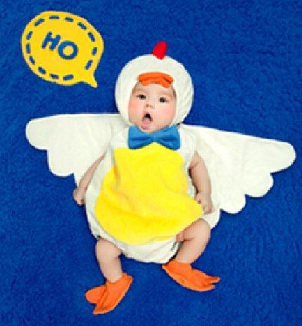 Cute Baby Newborn Infant handgefertigt Crochet Beanie Hat Ente Stil Baby Kleidung fotografiert Zubehör, Cartoon Fashion Kinder Fotografie Requisiten Foto Requisiten Kostüm Kleidung tragen, tragen (geeignet für Babys 0–6Monate (Baby Cute Ente Kostüme)