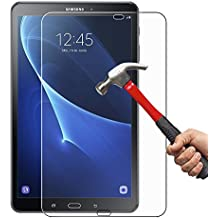 Samsung Galaxy Tab A 10.1 Cristal Templado Hepooya Samsung Galaxy Tab A 10.1 Protector de Pantalla para Samsung Tab A 10.1 Cristal Protector [Alta Definicion] [ sin Burbujas] [ 9H Dureza] [Ultra-trasparente] [Anti-golpe] [Ajuste Perfecto] Samsung Galaxy Tab A 10.1 protector