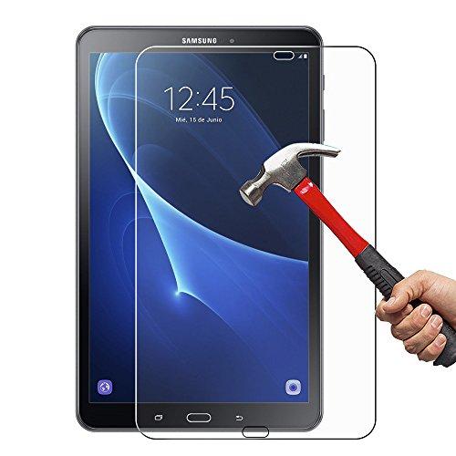 arekeke Protection écran pour Samsung Galaxy Tab A 10.1'' 2016 (SM-T580N), Films de Protection d'écran en Verre Trempé pour Samsung Tab A 10.1 - sans Bulles d'air, Verre Trempé pour Tab A 10.1