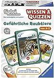 """Ravensburger 00752 - tiptoi Spiel Wissen & Quizzen: Gefährliche Raubtiere"""""""