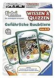 Ravensburger tiptoi Spiel Wissen & Quizzen: Gefährliche Raubtiere - 00752 / Erkundet allein oder gemeinsam die Welt der gefährlichen Raubtiere von A bis Z