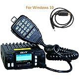 QYT KT-7900D 25W Mini Quad Band, Quad stehen Mobile Transceiver-Viererkabel-Band 136-174/400-480MHz / 220-260MHz /350- 390MHz Amateurfunkradio+Programmierendem Kabel