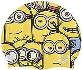 arena Minions Jr. Badekappe für Kinder, Farbe: Gelb, Einheitsgröße