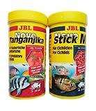 JBL Tanganjika Futter Set Novo Tanganjika 250ml & JBL Novo Stick M 250ml