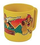 FUN HOUSE 005501 Disney Roi Lion Mug/Tasse Micro-ondable pour Enfant, polypropylène, Jaune, 10,5 x 8,7 x 8,2 cm