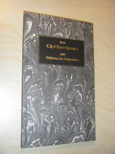 Merkwürdiges Stück aus den Antiquitäten, derer Verfasser ein gelehrter Protestant ist. Mit einigen Noten begleitet von Aloys Merz