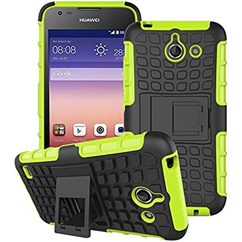 Huawei Ascend Y550 Funda, Dokpav® Dura Rigida Ultrafina Casco Funda Cascara con soporte para Huawei Ascend Y550 -