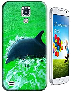 Couple dolphins swimmng together love each other cell phone cell phone cases for Samsung Galaxy S4