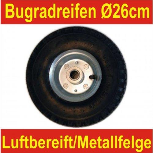 Stützradreifen 260x85mm Luftbereifung Bugradreifen Anhängerradreifen