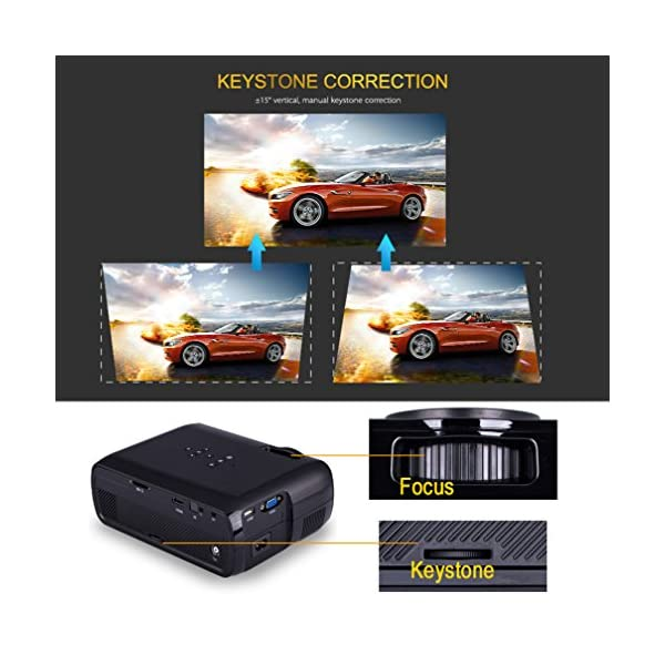 Proyectores Full HD 1080P Video Porttil Projector LED Home Cinema ...