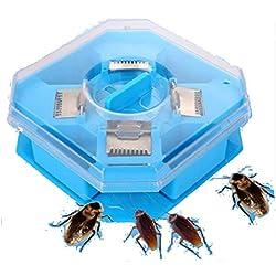 Cucarachas Trampas Box Cucaracha Bug Roach Catcher Cucaracha Asesino Insectos Insectos Bait Trampas Plaguicidas eficaz Cocina Restaurante Plástico Reutilizable No tóxico Eco