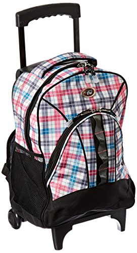 calpak-grand-stand-pink-plaid-unisex-17-inch-lightweight-rolling-sport-backpack