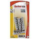 Fischer Turbo Porenbetondübel FTP K 6 K SB-Karte, Inhalt: 4 x Dübel + Profi-Bit PH3, 041692