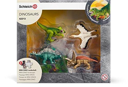Schleich - Mini dinos con puzzle de exploradores (42213)