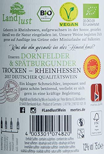 Landlust Dornfelder Spätburgunder BIO Vegan trocken (6 x 0.75 l)