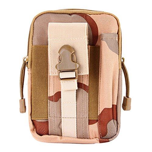 Lixada Camping Taktische Taille Taschen/Männer Wasserdichte Oxford Tuch Tasche, Einzelteilgröße: 17.5 * 12 * 6cm 4