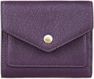Gostwo Genuine Leather Small Wallet for Women, RFID Blocking Women's Credit Card Holder Mini Bifold Pocket
